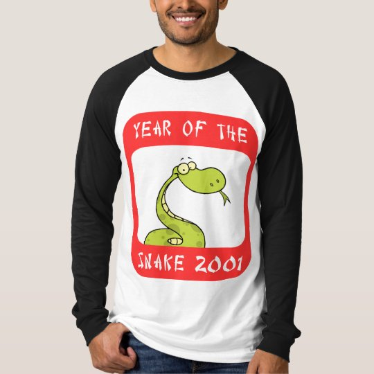 Year of The Snake 2001 T-Shirt