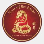Year of the Snake 2013 - Fun Wrist Stickers