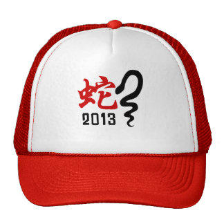 Year of The Snake 2013 Trucker Hat