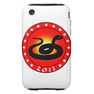 Year of the Snake 2013 iPhone 3 Tough Case