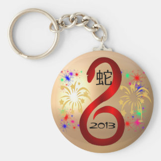 Year of the Snake 2013 keychain