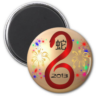 Year of the Snake 2013 magnet