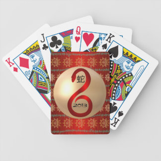 Year of the Snake 2013 playing cards