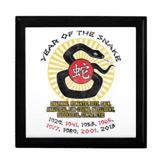 Year of the Snake 2013 Qualities Jewelry Box