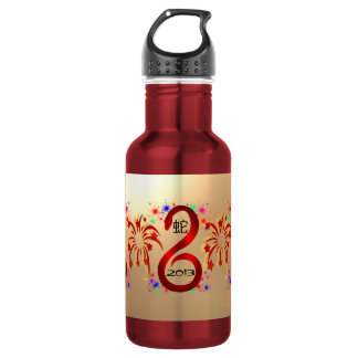 Year of the Snake 2013  Stainless Steel Water Bottle