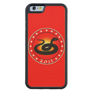 Year of the Snake 2013 Carved® Maple iPhone 6 Bumper