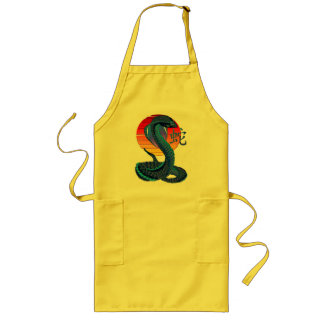 Year Of The Snake and Sun Apron