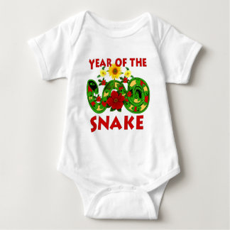 Year Of The Snake Baby Bodysuit