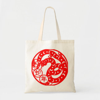 Year Of The Snake Tote Bag