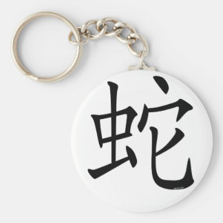 Year of the Snake Basic Round Button Keychain