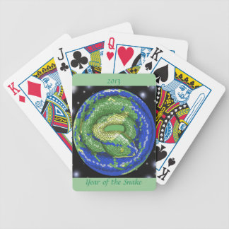 Year of the Snake Bicycle Playing Cards