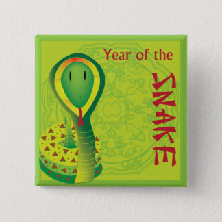 Year of the Snake Button