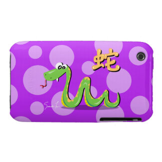 Year of the Snake Case-Mate iPhone 3 Case