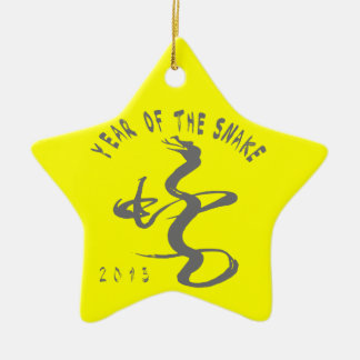 Year Of The Snake Ceramic Ornament