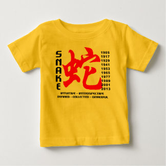 Year of The Snake Characteristics Baby T-Shirt