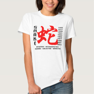 Year of The Snake Characteristics T-Shirt
