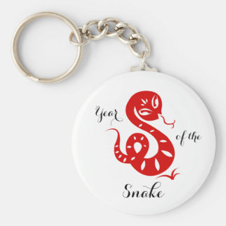 Year of the Snake Chinese Horoscope Magnets Keychain