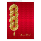 Year Of The Snake, Chinese New Year Business Thank Card