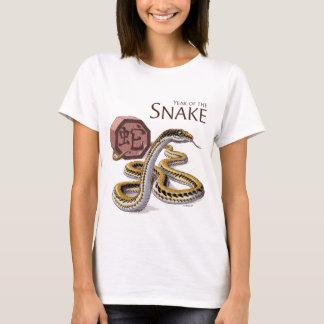 Year of the Snake Chinese Zodiac Art T-Shirt