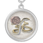 Year of the Snake Chinese Zodiac Custom Necklace