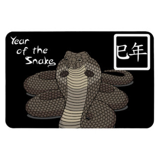 Year of the Snake Flexible Magnet