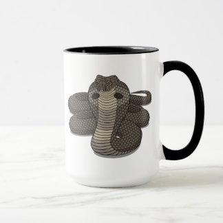 Year of the Snake Glass Ringer Mug