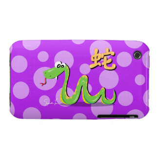 Year of the Snake iPhone 3 Case-Mate Cases
