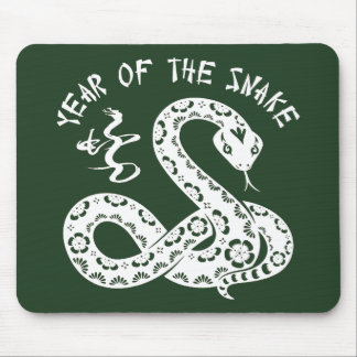 Year Of The Snake Mouse Pad