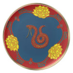 Year Of The Snake (Party Plate)