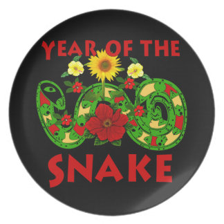 Year Of The Snake Plate