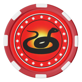 Year of the Snake Poker Chip Set