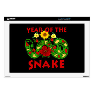 Year Of The Snake Laptop Skins