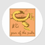 Year Of The Snake Stickers