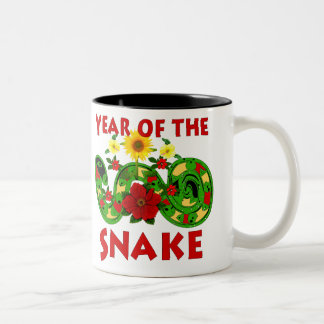 Year Of The Snake Two-Tone Coffee Mug