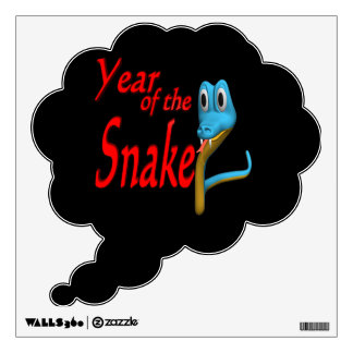 Year Of The Snake Wall Decal