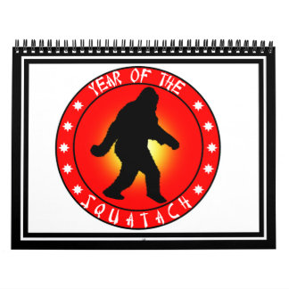 Year of the Squatch Calendar
