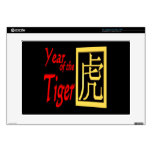 "Year Of The Tiger 15"" Laptop Decal"