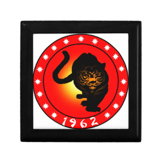 Year of the Tiger 1962 Gift Box