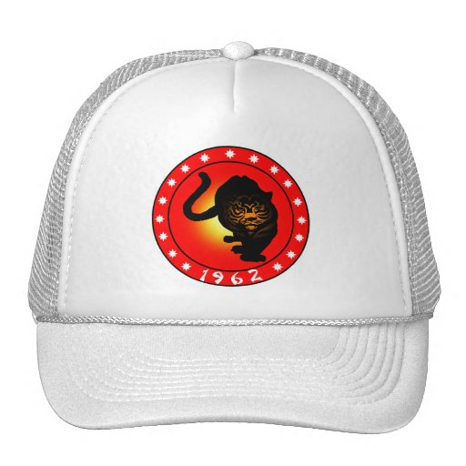 Year of the Tiger 1962 Mesh Hats