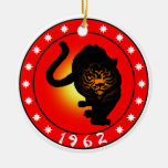 Year of the Tiger 1962 Ornaments