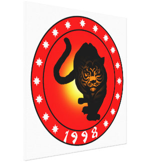 Year of the Tiger 1998 Canvas Print