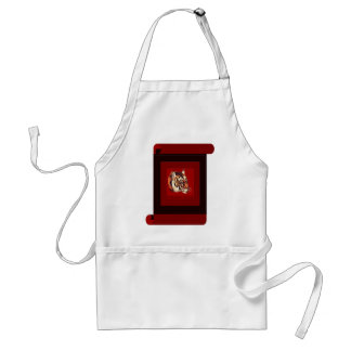 Year of the tiger 2010 adult apron
