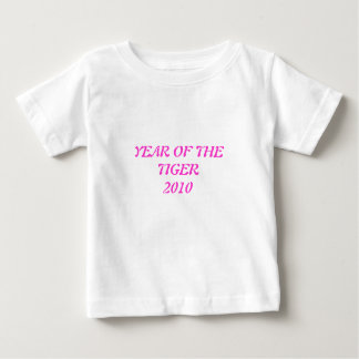 YEAR OF THE TIGER 2010 BABY T-Shirt