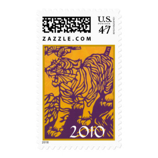 Year of The Tiger 2010 Postage