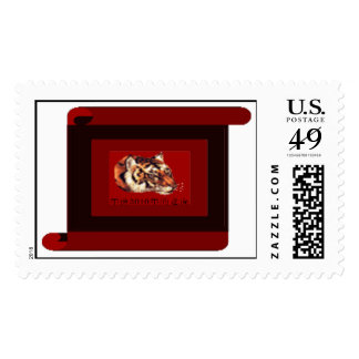 Year of the tiger 2010 postage stamps