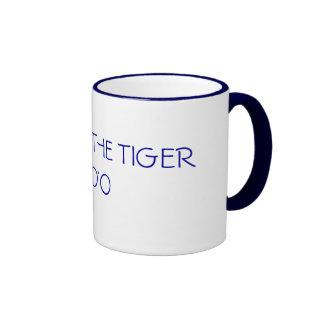YEAR OF THE TIGER 2010 RINGER COFFEE MUG