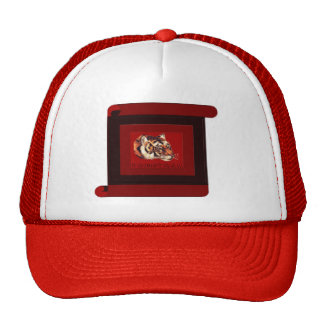 Year of the tiger 2010 trucker hat