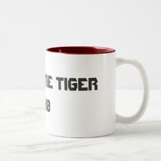 YEAR OF THE TIGER 2010 Two-Tone COFFEE MUG