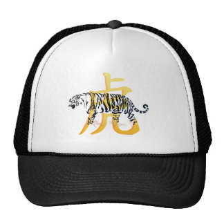 Year Of The Tiger and Symbol Hat