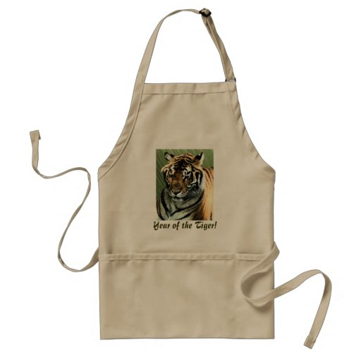 Year of the Tiger Aprons